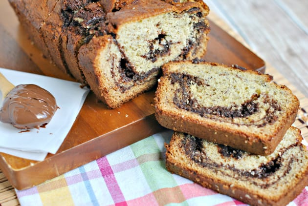 Nutella Banana Bread Picture