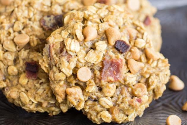 Peanut Butter Bacon Breakfast Cookies Photo