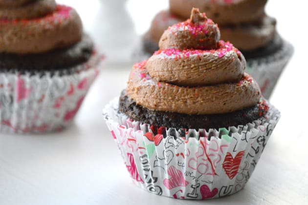 Gluten Free Chocolate Cupcakes Photo