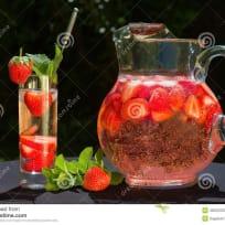 CBD Strawberry Sauce
