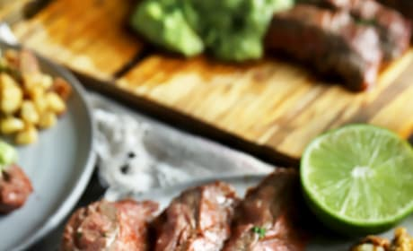 Chipotle Flank Steak with Avocado Salsa Picture