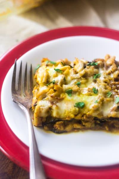Low Carb Lasagna Image