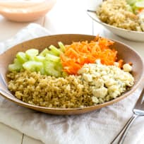 Buffalo Chicken Quinoa Salad Recipe