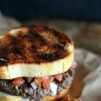 Bruschetta Burger Recipe