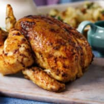 Lemon Thyme Buttery Roasted Chicken