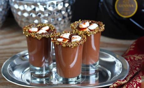 Mexican Hot Chocolate Shots Recipe