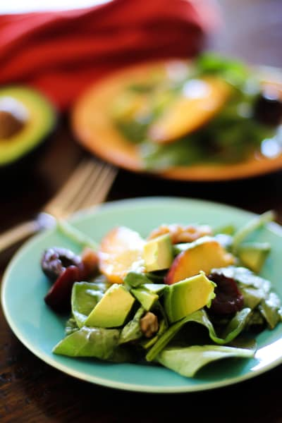 Spinach Salad Picture