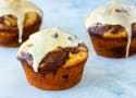 Glazed Chocolate Orange Muffins Recipe