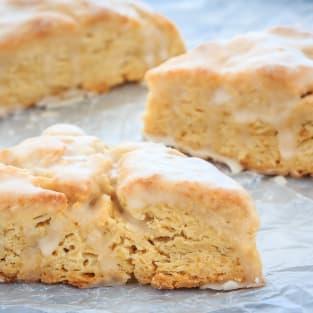 Vanilla scones photo