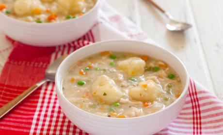 Gluten Free Chicken and Dumplings Recipe
