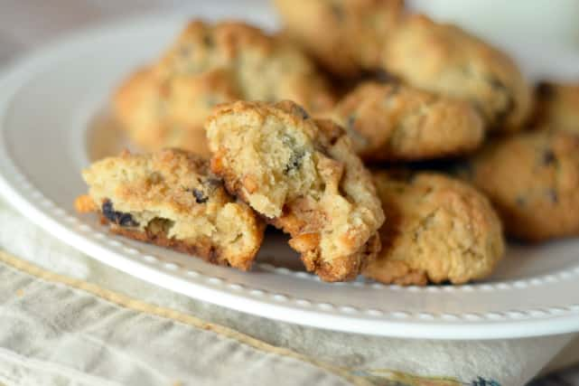 Gluten Free Chocolate Chip Pretzel Cookies Recipe