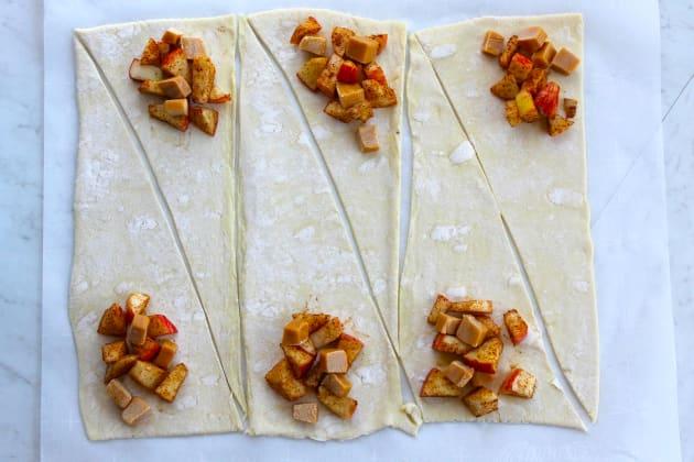 Caramel Apple Croissants Picture