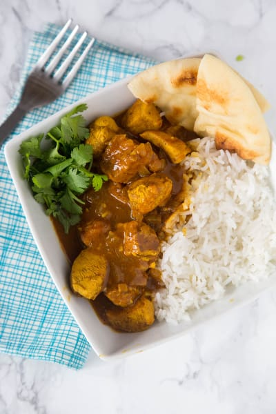 Easy Coconut Chicken Curry Pic