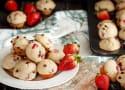 Mini Strawberry Chocolate Chip Muffins