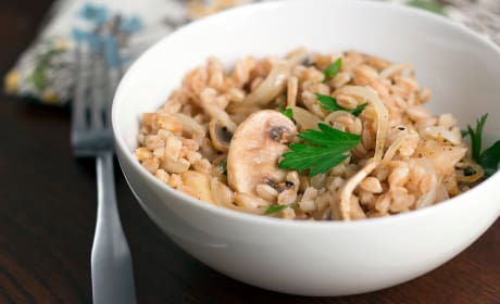 Farro Risotto Recipe