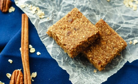 Apple Cinnamon Energy Bars Recipe