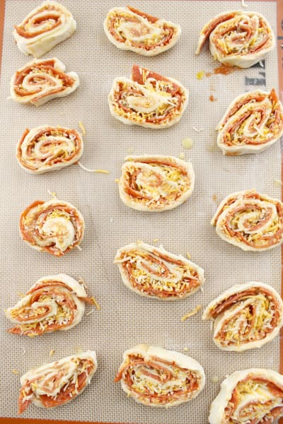 Pepperoni Pizza Pinwheels Image