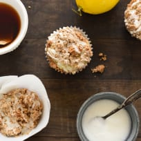 Lemon Earl Grey Streusel Muffins Recipe
