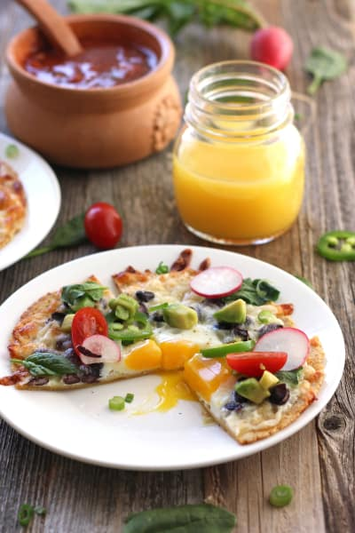 Baked Egg Tostadas Picture