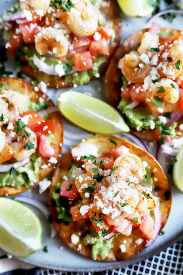 File 1 - Honey Lime Shrimp and Guacamole Tostadas