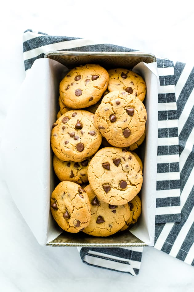 Gluten Free Peanut Butter Chocolate Chip Cookies Picture