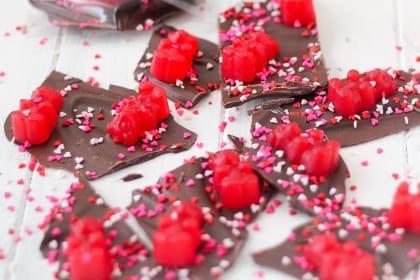 Valentine's Day Chocolate Bark