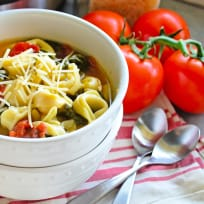 Instant Pot Tortellini Soup with Spinach Recipe