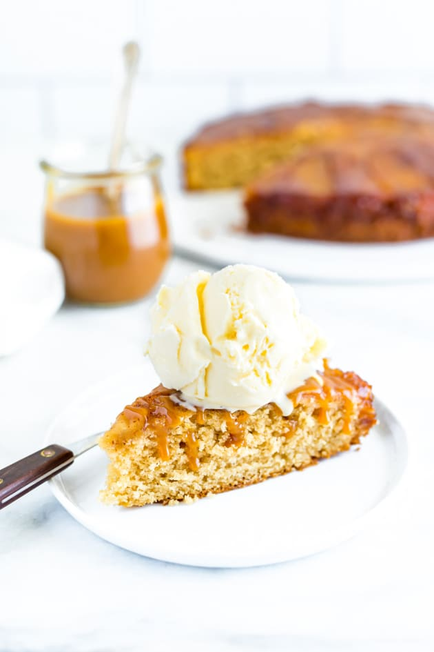 Gluten Free Apple Upside-Down Cake Image