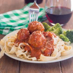 Instant pot gluten free turkey meatballs photo