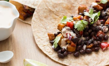 Sweet Potato and Black Bean Tacos Recipe