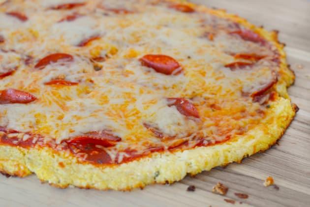 Cauliflower Crust Pizza Picture