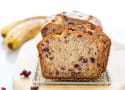 Gluten Free Cranberry Banana Bread Recipe