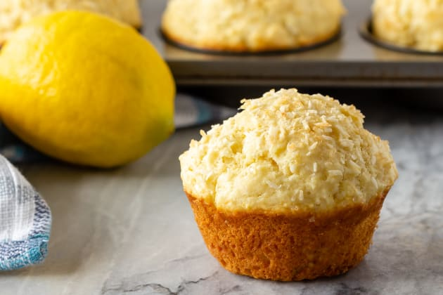 Lemon Coconut Muffins Photo