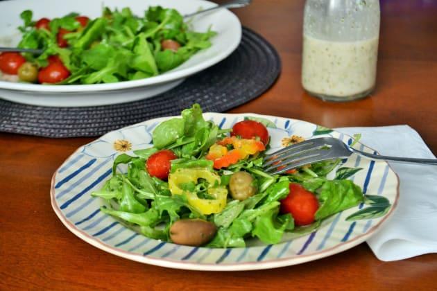 olive garden salad dressing picture - How To Make Olive Garden Salad