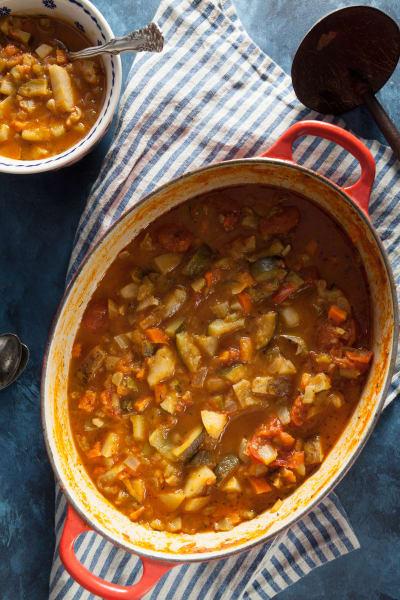 Roast Vegetable Soup Picture