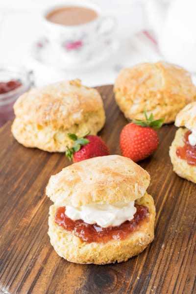 Classic English Scones Picture