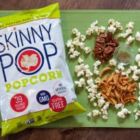 SkinnyPop Popcorn Recipe with Apples, Pecans, and Rosemary