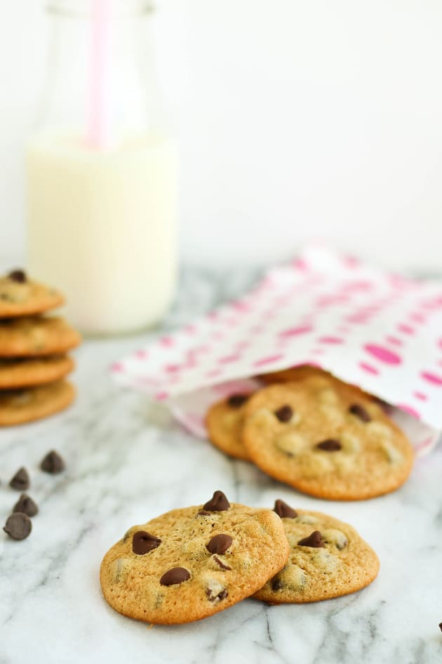 Malted Chocolate Chip Cookies - Food Fanatic