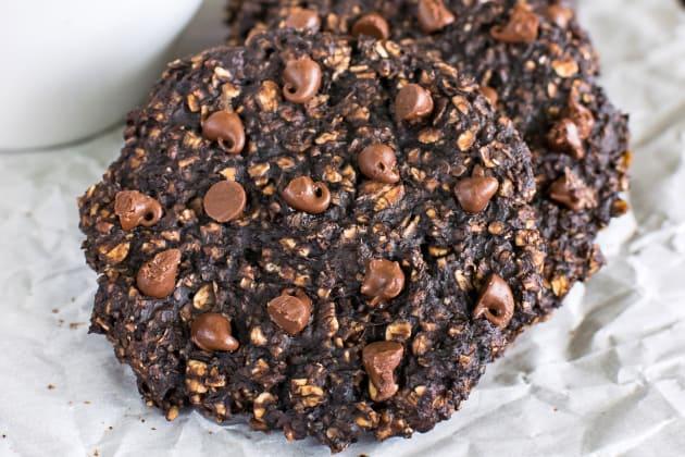Healthy Banana Chocolate Chip Breakfast Cookies Photo