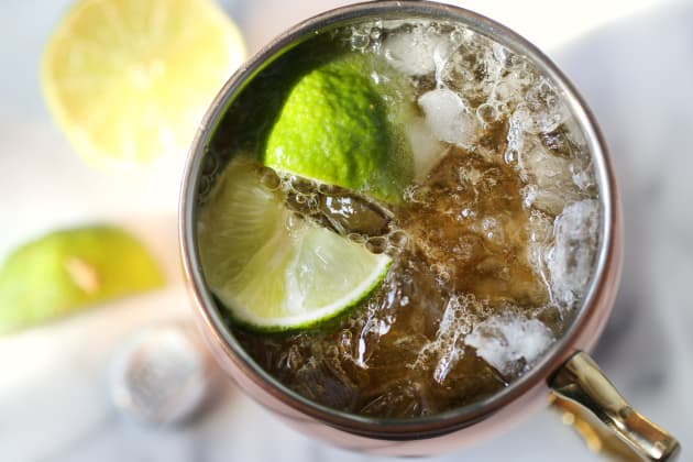 Moscow Mule Cocktail Photo