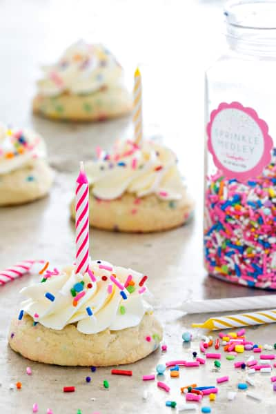 Birthday Cake Cookies Pic