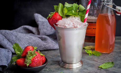 Strawberry Rhubarb Julep Recipe