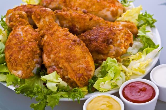 Fried Chicken Drumsticks Image