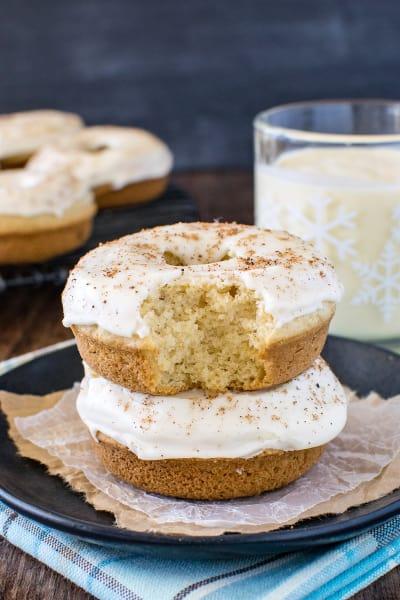 Eggnog Donuts Pic