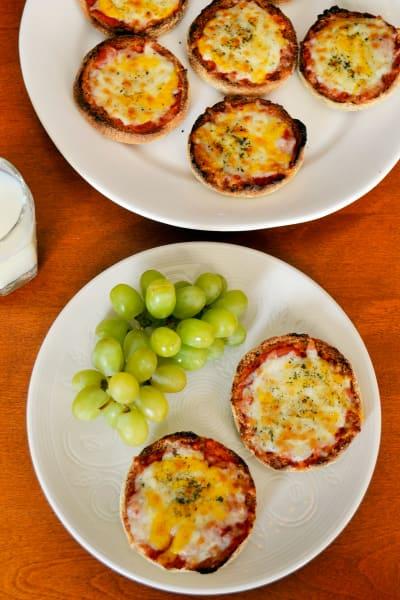 English Muffin Pizzas Picture
