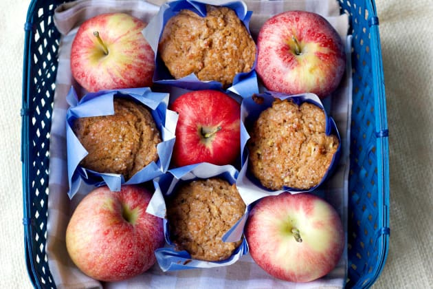 Whole Wheat Apple Cinnamon Muffins Image