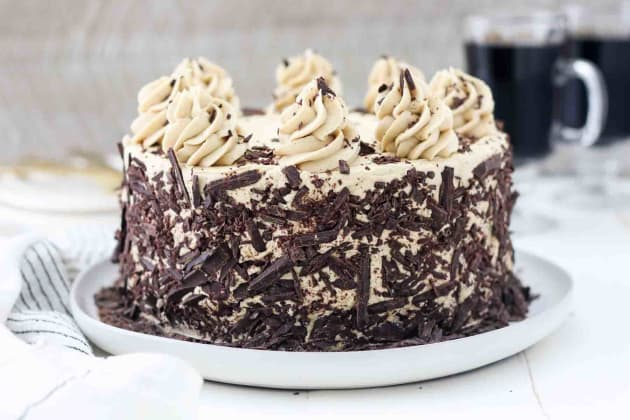 Chocolate Mocha Cake Photo