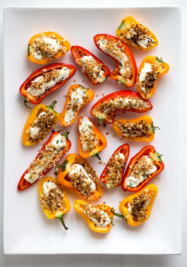Stuffed Mini Peppers Picture