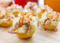 BBQ Shredded Pork Cups with Cheese