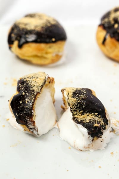 S'mores Cream Puffs Image